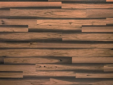 Two-layers wood floor with surface protective finish ROVERE FOSSILE