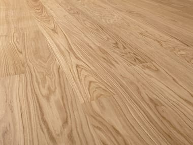 Two-layers oak floor with surface protective finish OAK