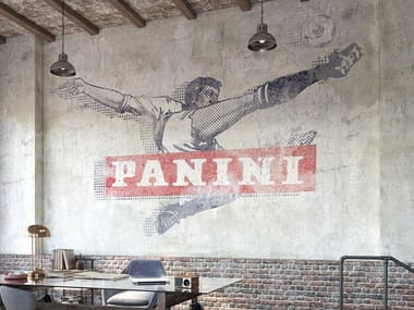 Motif panoramic nonwoven wallpaper ROVESCIATA CLASSICA