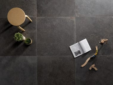 Porcelain stoneware wall/floor tiles with stone effect ROYAL