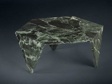 Low marble coffee table for living room RUCHE | Marble coffee table