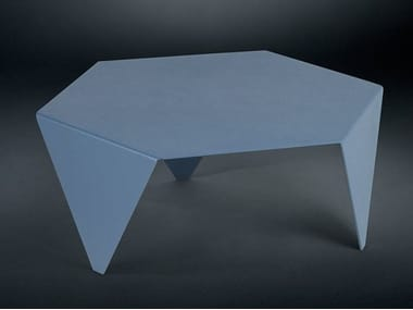 Low metal coffee table for living room RUCHE | Metal coffee table