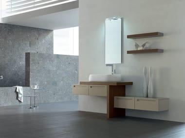 Sistema bagno componibile RUSH - COMPOSIZIONE 17 Collezione Rush By ...