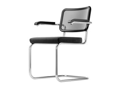 Cantilever upholstered mesh chair S 64 SPVN | Chair