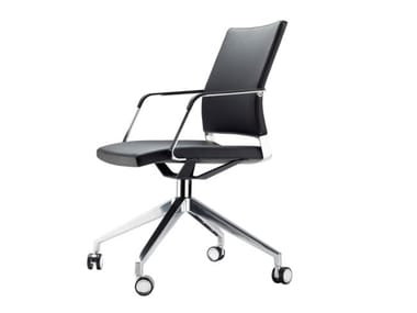 Swivel task chair with castors S 95 PFR