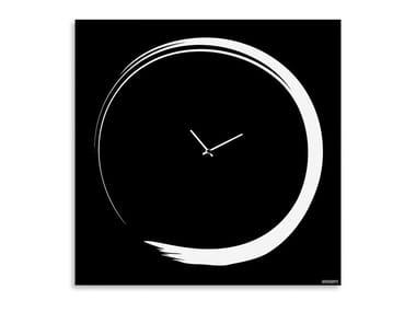 Wall-mounted plate clock S-ENSO | Wall-mounted clock
