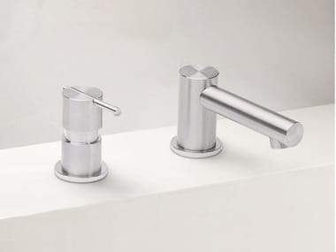 2 hole stainless steel washbasin mixer S22 T4.12 | Washbasin mixer