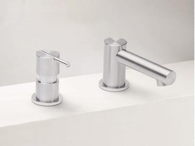 2 hole stainless steel washbasin mixer S22 T4.12 | Washbasin mixer