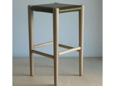 Stool with footrest S3 | High stool
