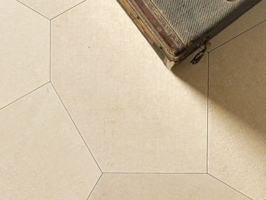 Natural stone wall/floor tiles SACCO POLIGONO6 BEIGE