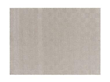 Patterned wool rug SAIL | Rug