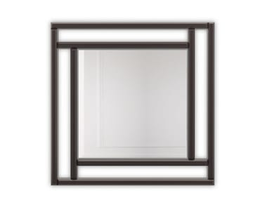 Square framed wall-mounted mirror SAINT LOUIS | Square mirror
