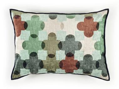 Motif velvet cushion SAINT PAUL