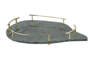 Oval marble tray SAKAI