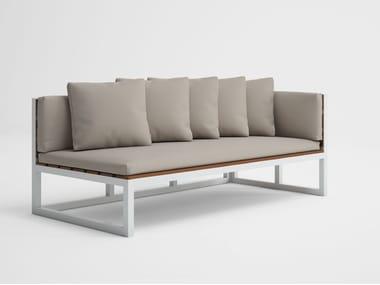 Modular garden sofa SALER SOFT TEAK 1