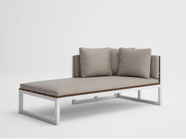 Modular garden sofa SALER SOFT TEAK 2
