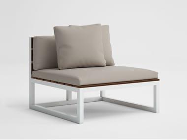 Modular garden sofa SALER SOFT TEAK 3