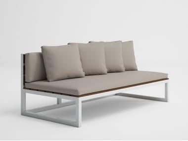 Modular garden sofa SALER SOFT TEAK 4