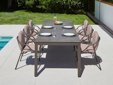 Extending garden table SALVIA | Extending table