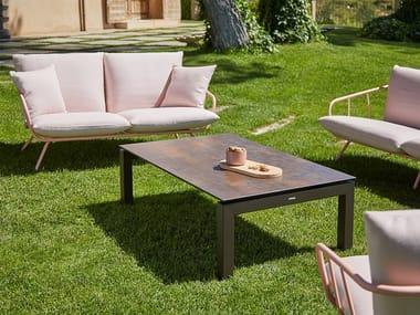 Rectangular garden side table SALVIA | Rectangular coffee table
