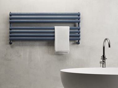 Hot-water horizontal carbon steel towel warmer SAMIRA WIDE