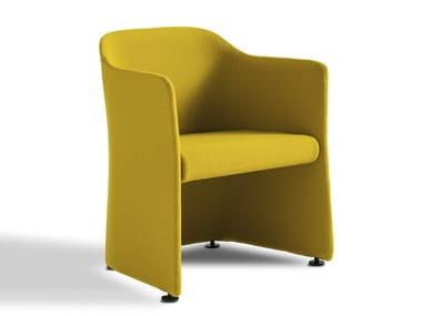 Fabric easy chair SAN SIRO