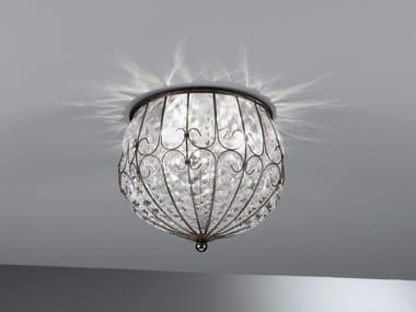 Plafoniera Per Bagno Murano : Lampade da soffitto in vetro di murano stile classico archiproducts