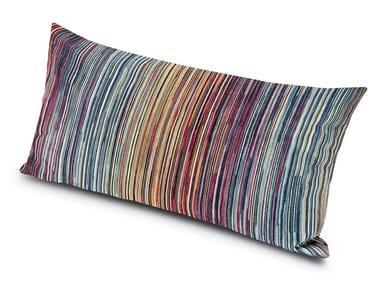 Cuscino rettangolare in velluto jacquard di viscosa SANTIAGO | Cuscino rettangolare
