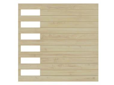 Wooden shade panel SARA