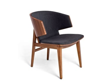 Cashmere chair with armrests SARR | Cashmere chair