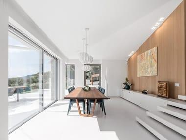 Revêtement de sol/mur en Lapitec® SATIN - BIANCO CREMA