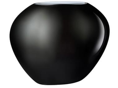 Crystal vase SATIN MEDIUM