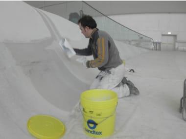 Gypsum and plaster SATINAL