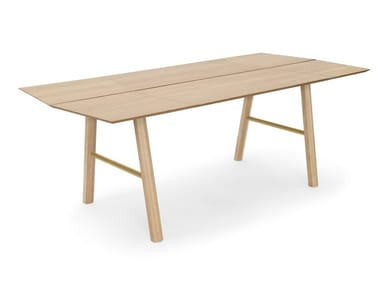 Rectangular ash table SAVIA | Table