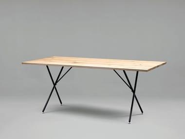 Rechteckiger Tisch aus Holz SC32 | Tisch aus Holz