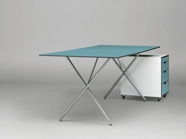 Rechteckiger Tisch aus HPL SC32 | Tisch aus HPL