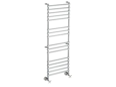 Chrome vertical wall-mounted towel warmer SCCL02A | Towel warmer