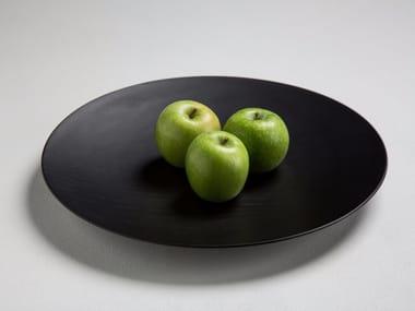 Round oak tray SCHALE 35