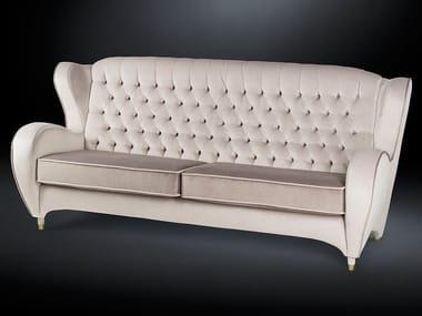 Tufted fabric sofa SCHINKE | Sofa