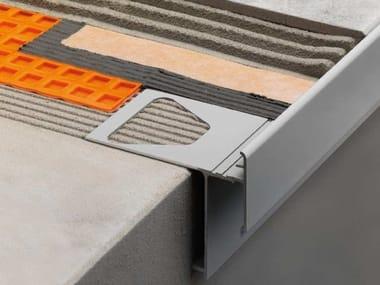 Profilo di chiusura per balconi e terrazzi con gocciolatoio Schlüter®-BARA-RAKEG