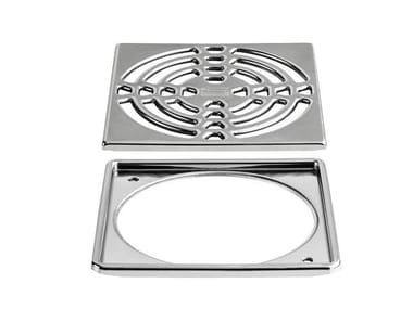 Manhole cover and grille for plumbing and drainage system Schlüter®-KERDI-DRAIN-R / -RL