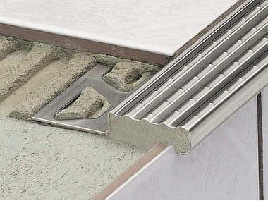 Profilo paragradino in acciaio inox Schlüter®-TREP-E/-EK/-EFK