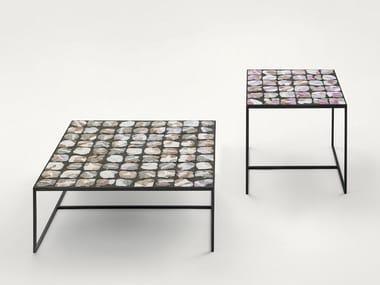 Low square coffee table SCIARA | Coffee table