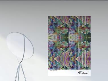 Optical PVC wall sticker BLEACH | Poster