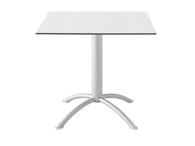 Square laminate table SEA | Square table