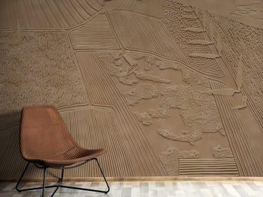Papel de parede ecológico com suporte de reboco com paisagem SEASON 1 KW1603