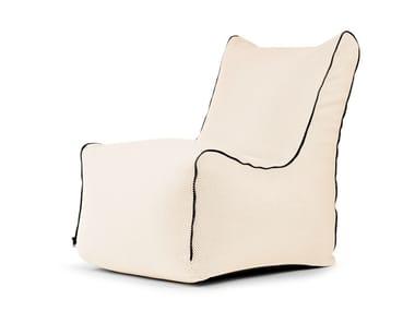 Poltrona imbottita in poliestere SEAT ZIP CAPRI | Poltrona
