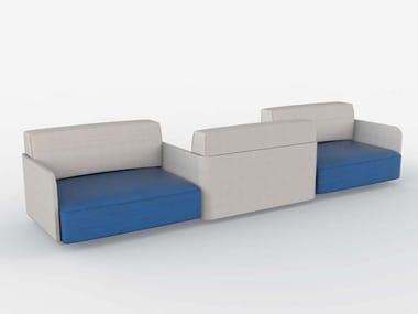 Sectional sofa with fire retardant padding AIR   Sectional sofa