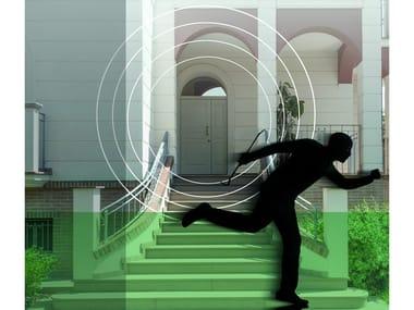Sistema antintrusione sonoro integrato nella porta SECURSOUND
