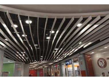 Acoustic baffles SEDES™ STRAIGHT
